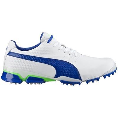 Puma TitanTour Ignite Golf Shoes White Blue AW16