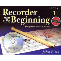 Image of Recorder From The Beginning Pupil Bk/CD