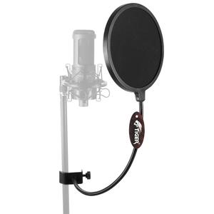 Tiger Msa21 Microphone Pop Filter Flexible Gooseneck Double Layer