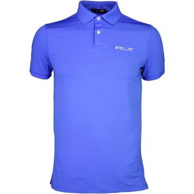 RLX Golf Shirt Solid Airflow Diplomat Blue SS16