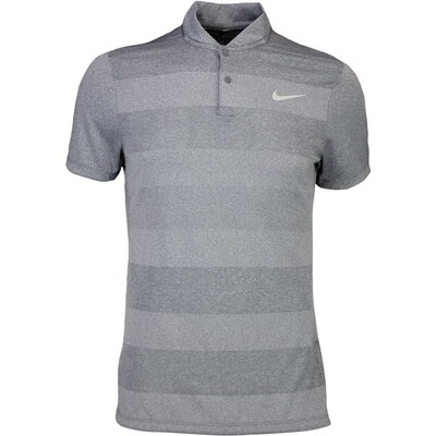 Nike Golf Shirt MM Fly BLADE Stripe Dark Grey SS16