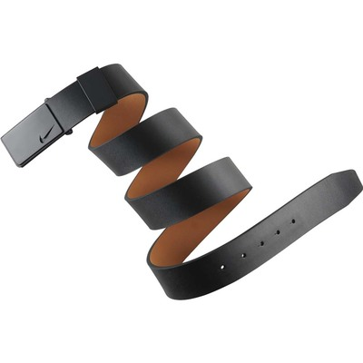 Nike Golf Belt Sleek Modern Tonal Plaque Black AW16