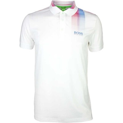 Hugo Boss Golf Shirt Paddy Pro 5 Training White SP16