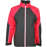 Galvin Green Waterproof Golf Jacket - AMOS Electric Red