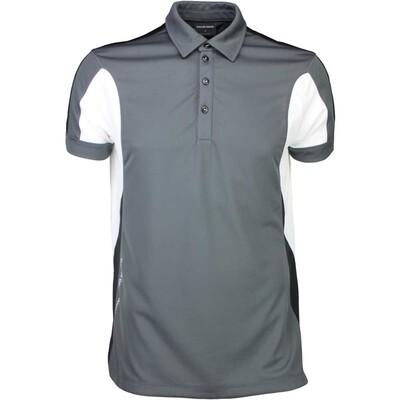 Galvin Green Golf Shirt MARLOW Ventil8 Iron Grey SS16
