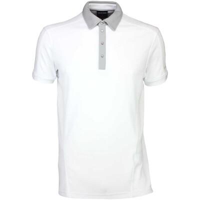 Galvin Green Golf Shirt MAJOR White SS16