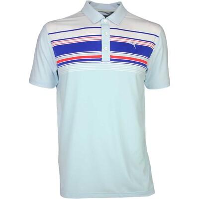 Puma Golf Shirt Key Stripe Omphalodes SS16