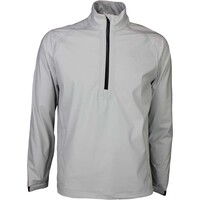 Puma Waterproof Golf Jacket - LS Rain Popover Grey SS16