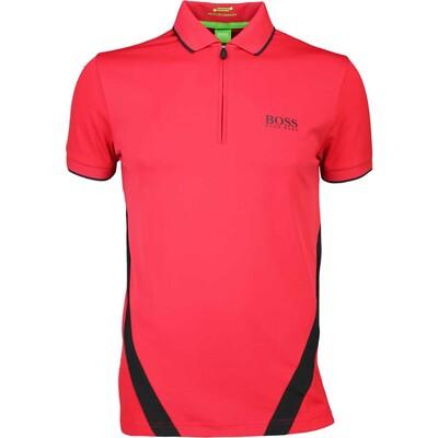 Hugo Boss Golf Shirt 8211 Perret Pro Barbados Cherry PF16