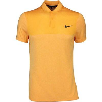 Nike Golf Shirt MM Fly BLADE Block Vivid Orange SS16