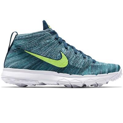 Nike Golf Shoes Flyknit Chukka Rio Teal AW16