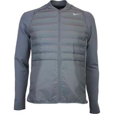 Nike Golf Jacket Aeroloft Hyperadapt Zip Dark Grey AW16