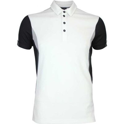 Galvin Green Golf Shirt MAPPING Ventil8 White AW16
