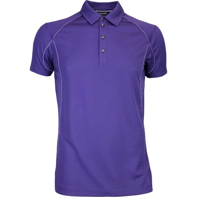 Galvin Green Golf Shirt MOORE Ventil8 Plum AW16