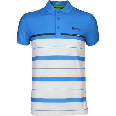 Hugo Boss Golf Shirt Paule Pro 1 Blue Aster FA16