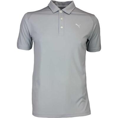 Puma Golf Shirt Cobra Branded Pounce Quarry AW16