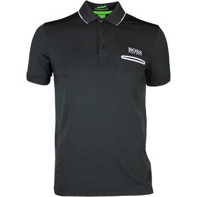 Hugo Boss Golf Shirt Paule Pro 1 Black PS17