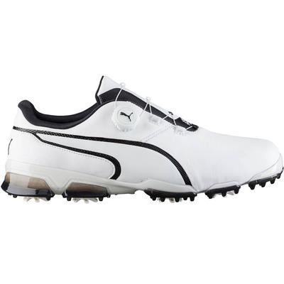Puma Golf Shoes TitanTour Ignite Disc White Black 2017