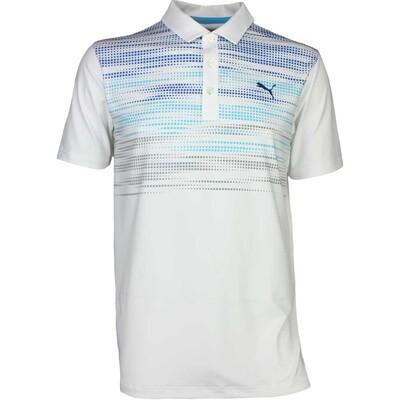 Puma Golf Shirt Uncamo Bright White SS17