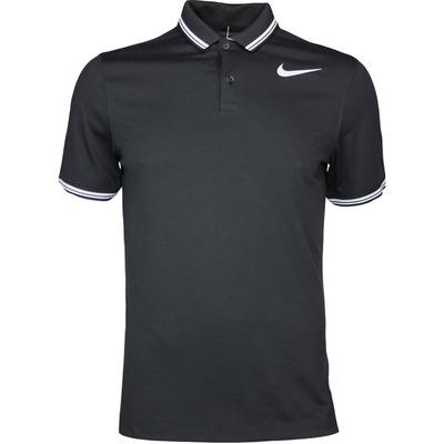 Nike Golf Shirt NK Dry Tipped Black AW17