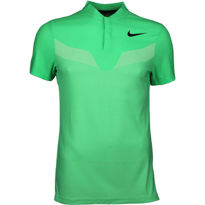 Nike Golf Shirt Zonal Cooling MM Fly Blade Electro Green SS17