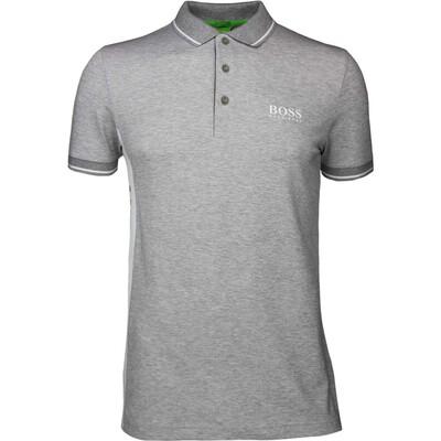 Hugo Boss Golf Shirt Paule Pro Grey Melange SP17