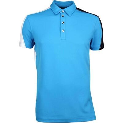 Galvin Green Golf Shirt MELVIN Ventil8 Deep Ocean SS17