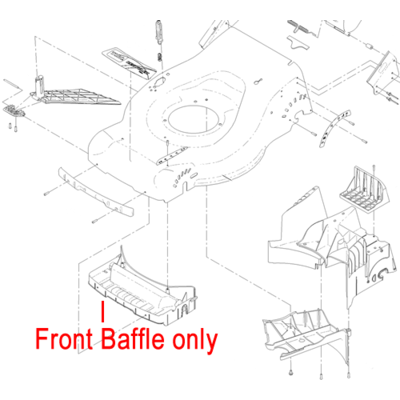 Hayter Hayter Toro Front Baffle 110-7066