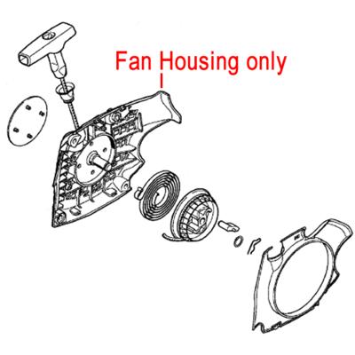 Stihl Stihl Chainsaw Fan Housing 1139 080 1802