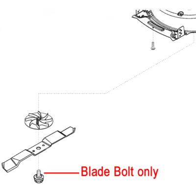 AL-KO AL-KO Lawnmower Blade Bolt 474718