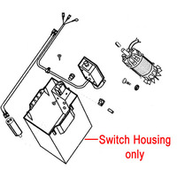 AL-KO Chipper Shredder Switch Housing 515051