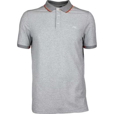 KJUS Golf Shirt STAN TOUR Grey Melange SS17