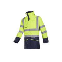 Hedland 7223 FR AST High Vis Yellow Rain Coat