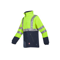 Rainier High Vis Yellow FR Fleece Jacket