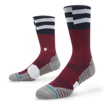 Stance Golf Socks Bubba Wedge Crew Red 2017