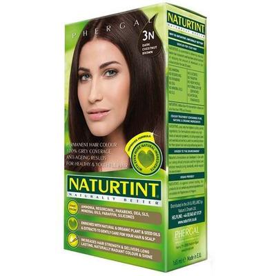 Naturtint Permanent Natural Hair Colour 3N Dark Chestnut Brown 170ml