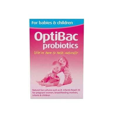 Optibac Probiotics for Babies & Children 90 Sachets