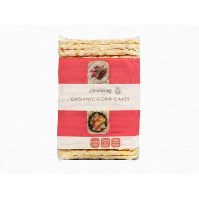 Clearspring Organic Corn Cakes 130g