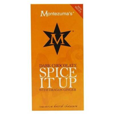 Montezuma's Dark Chocolate Spice It Up Bar 100g