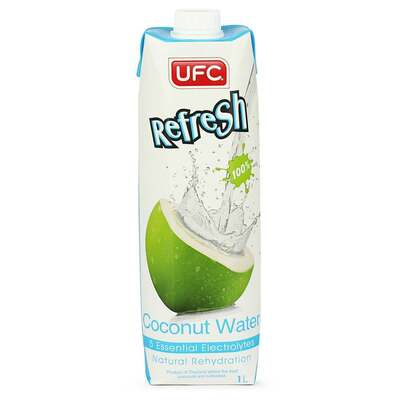 UFC Refresh 100% Coconut Water 1 Litre