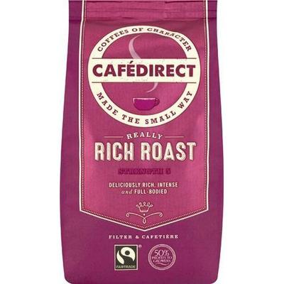 Cafedirect Organic Rich Roast Ground Coffee 227g