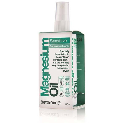 BetterYou Magnesium Oil Sensitive Spray 100ml