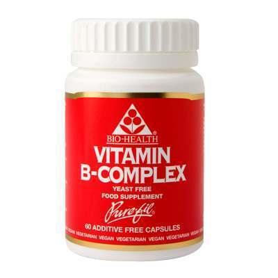 Bio Health Vitamin B-Complex 60 Capsules