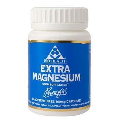 Bio Health Extra Magnesium 60 Capsules