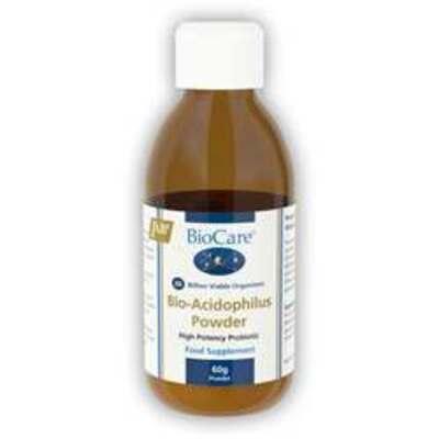 BioCare Bio-Acidophilus Powder Probiotic 60g