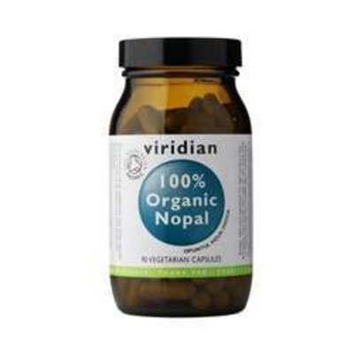 Viridian 100% Organic Nopal 90 Capsules