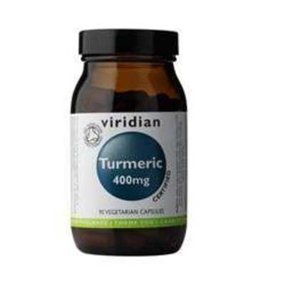 Viridian Organic Turmeric 400mg 90 Capsules