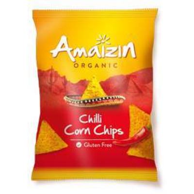 Amaizin Organic Chilli Corn Chips 75g