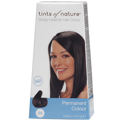 Tints of Nature Natural Dark Brown 3N Permanent Colour 130ml