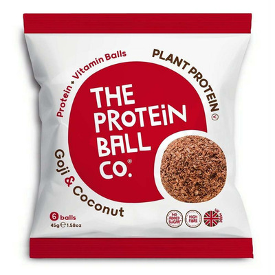 The Protein Ball Company Goji & Coconut Protein Balls 45g Pack of 10